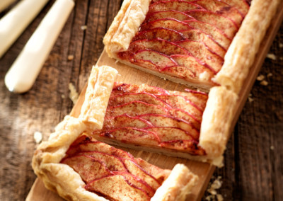 Tarte aux pommes Red Prince facile