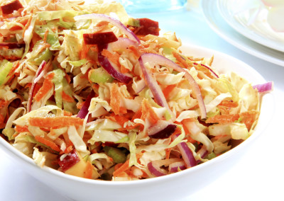 Asian Red Prince Apple Coleslaw