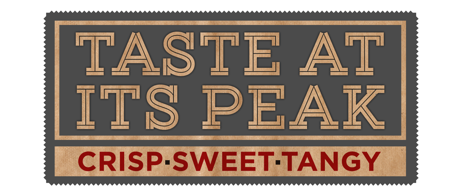 taste at its peak