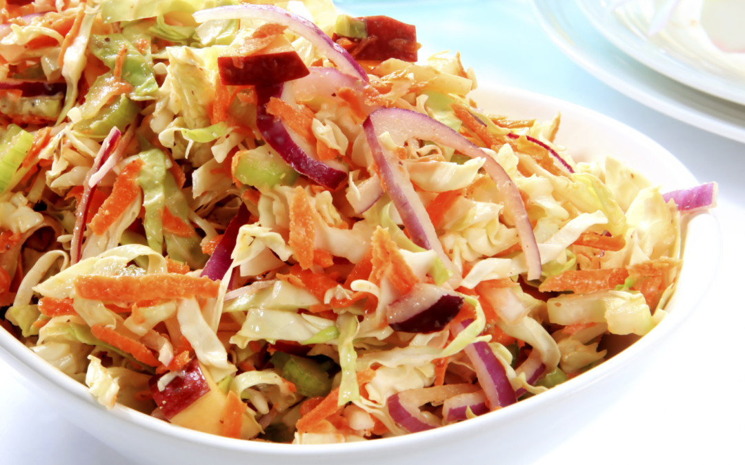Asian Red Prince® Apple Coleslaw