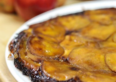 Sweet Potato Gratin with Red Prince® Apples
