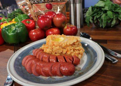 Hutspot with Smoked Sausage