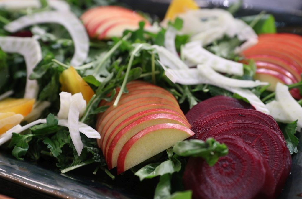 Red Prince® Apple, Roasted Beet And Fennel Salad