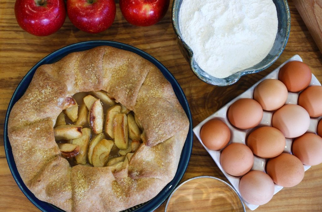 Red Prince® Apple Crostata