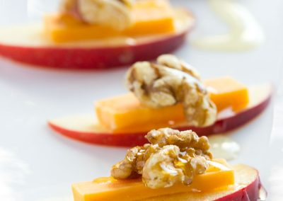 Apple and Cheese Appetiser