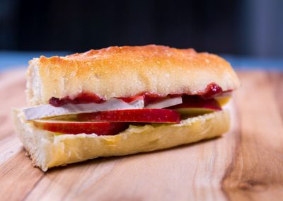 Red Prince® Apple Cranberry Brie Baguette